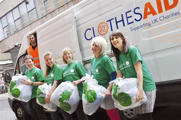 Clothes Aid and NSPCC