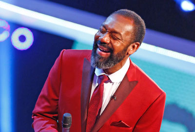 Lenny Henry was a presenter on this year's Comic Relief show