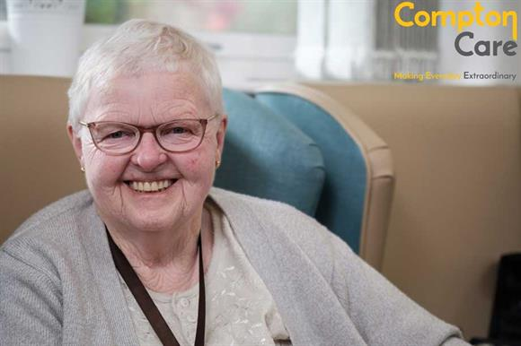 Evelyn Leedham, a Compton Care patient