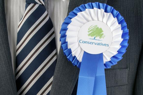 Conservatives: more likely to see charities as too political