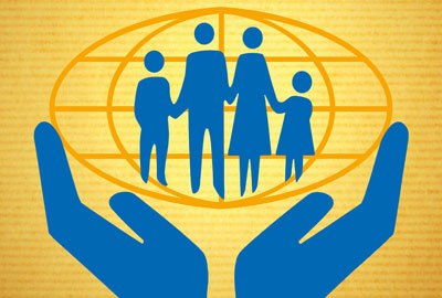 Credit unions - the worldwide logo