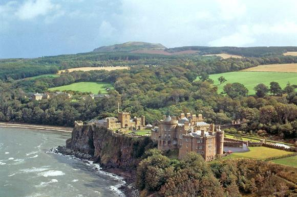 Culzean Castle, a National Trust for Scotland property