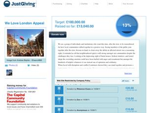 Capital Community Foundation's We Love London appeal
