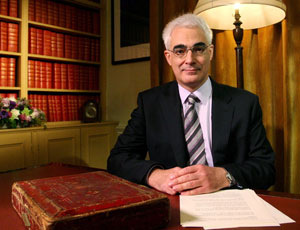 Alistair Darling, Chancellor of the Exchequer
