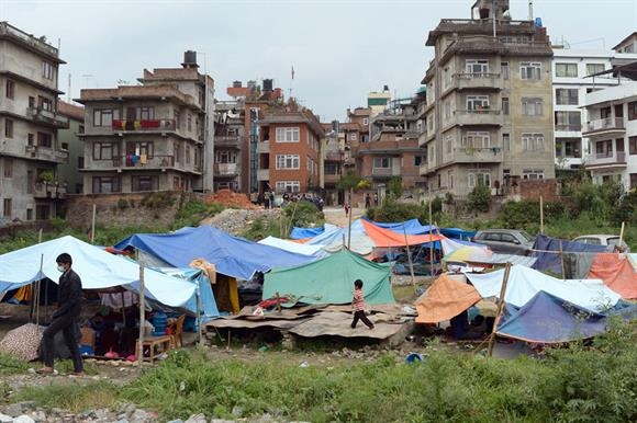 Aftermath of the Nepal earthquake