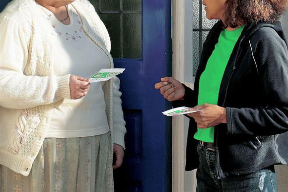 Door-to-door fundraising