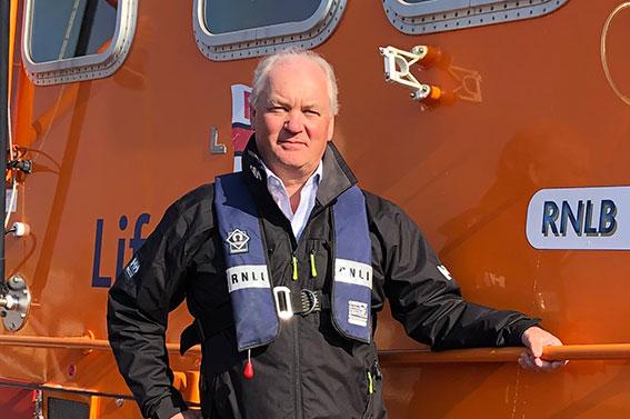 Mark Dowie (Photograph: RNLI/Salcombe RNLI)