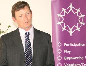Stephen Bell, chief executive, Kent Children's Fund Network