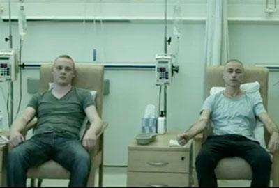 A still from St John Ambulance's new video