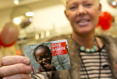 British Red Cross loyalty card (Picture: Joel Chant, UNP)