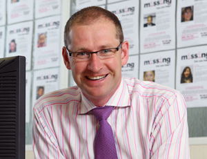 Missing People chief executive Martin Houghton-Brown