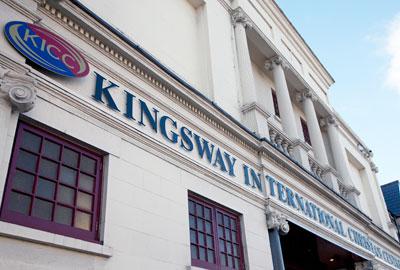 Kingsway International Christian Centre in Walthamstow, east London