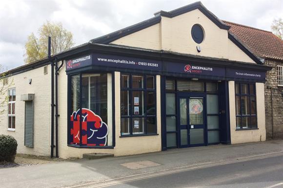 Encephalitis Society office in Malton, near York