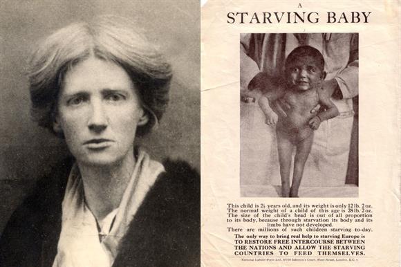 Eglantyne Jebb: helped to found Save the Children