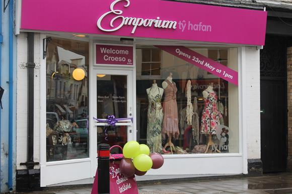 A Tŷ Hafan charity shop