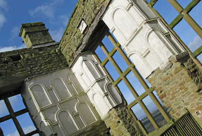 Hardwick Old Hall, owned by English Heritage