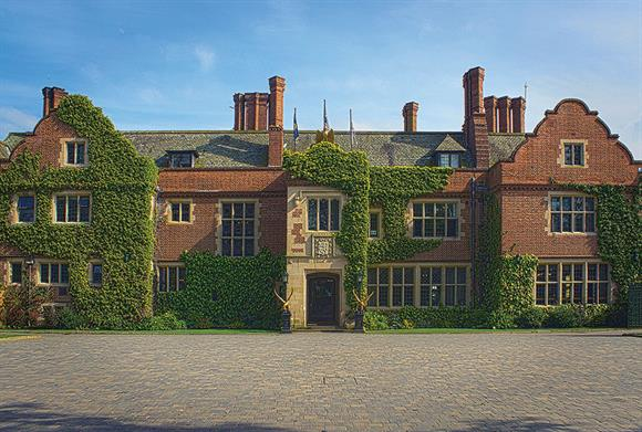 Queen Ethelburga's College near York, where the charities are based (Photograph: Joeanthony00/Wikimedia Commons)