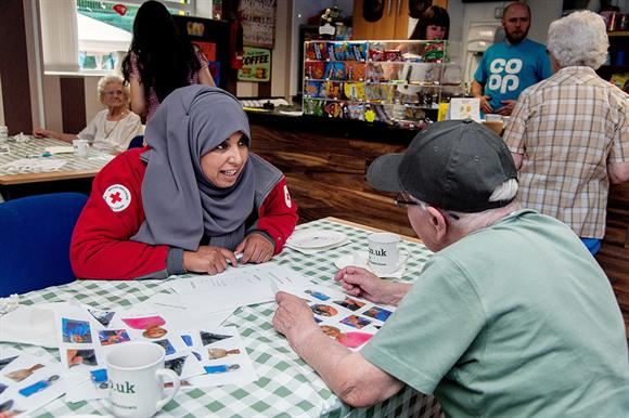 The Red Cross worked to tackle loneliness