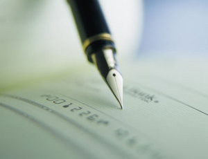 Cheques: due to be abolished by 2018
