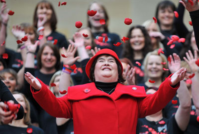 Susan Boyle launches the appeal
