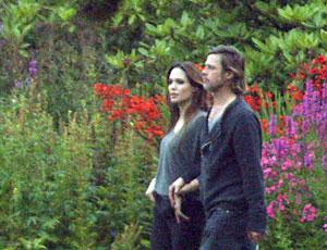 Brad Pitt and Angelina Jolie are visiting Scotland this week