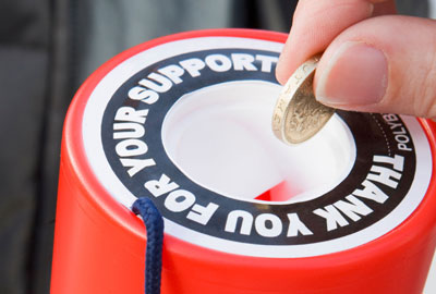 More than a million more people gave to charity in 2010/11 than in the previous year