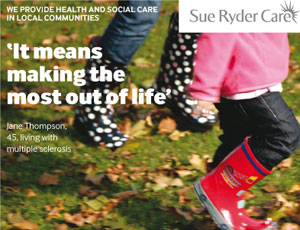 Sue Ryder Care legacy campaign