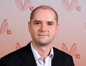 V director of development and innovation Rob Jackson