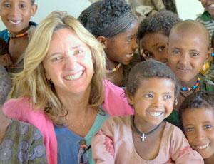 Bertschinger returns to Ethiopia (photograph: Arthur Edwards)