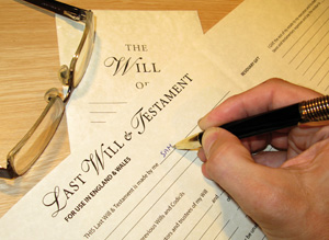 Legacies: few know where parents' wills are kept