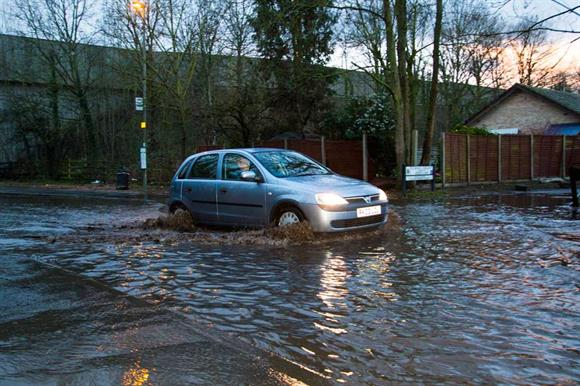 Flooding: there are 28 flood warnings and 156 flood alerts in England and Wales