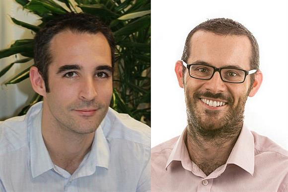 Daniel Fluskey and Rhodri Davies