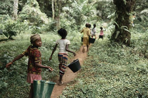 Tombohuaun: the WaterAid campaign focused on the Sierra Leone village