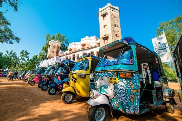 The rickshaw race