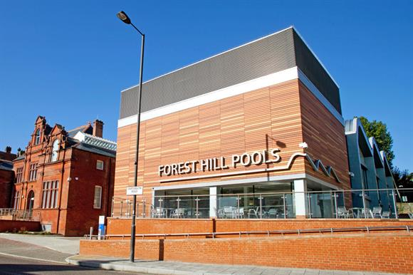 Forest Hill Pools: run for Lewisham council by Fusion Lifestyle