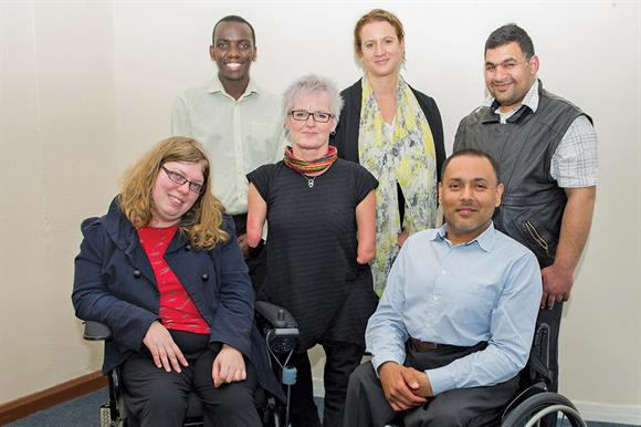 Six of Inclusion London's eight trustees