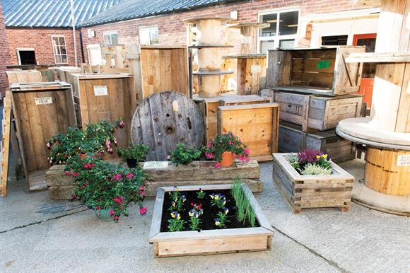 Community Wood Recycling recycles timber from Wates Construction sites