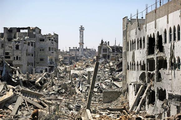 The conflict in Gaza