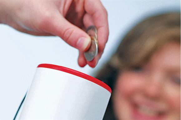 Giving: average of £110 per adult this year expected