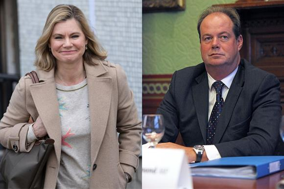 Justine Greening and Stephen Hammond