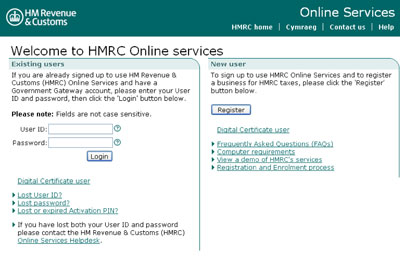 HMRC Online