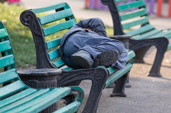Social problems such as homelessness mean rising demand for charities' services, report says