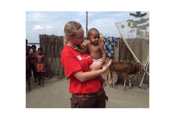 Adele Korman: humanitarian fundraising emergency programme in Bangladesh