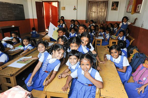 Bond will partly fund education in India