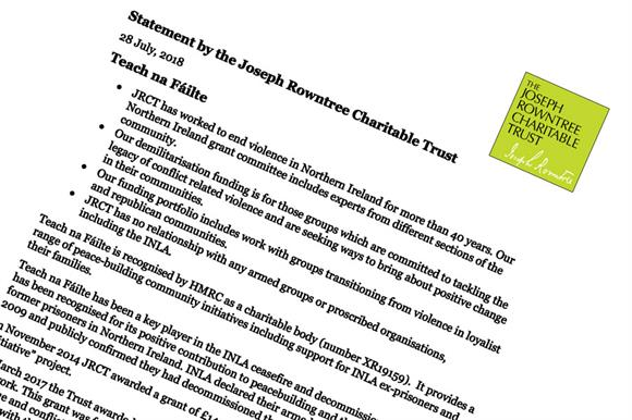 The JRCT statement