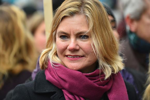 Justine Greening (Photograph: Getty Images)