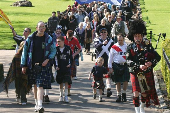 The Kiltwalk