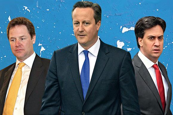 Clegg, Cameron and Miliband: recipients of letter