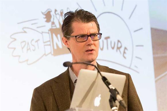 Mark Stevenson (Photograph: NCVO/Rebecca Fennell)