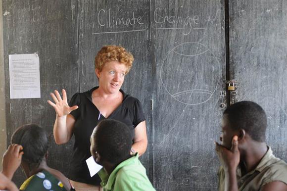 Miriam Mason-Sesay runs EducAid, a network of free schools in Sierra Leone
